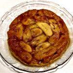 Banana Pie Baked Upside-Down in Caramel